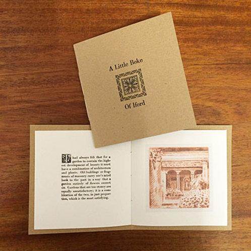 A little boke of Iford - letterpress book