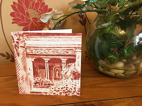 The Casita at Iford - Greetings Card