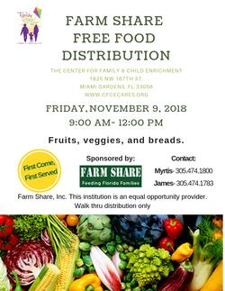 Farm Share Give-a-way
