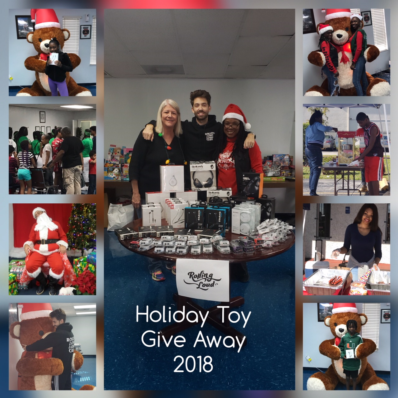 Holiday Toy Give Away 2018