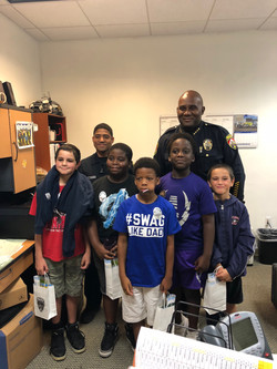 Opa-Locka Police visit 2019