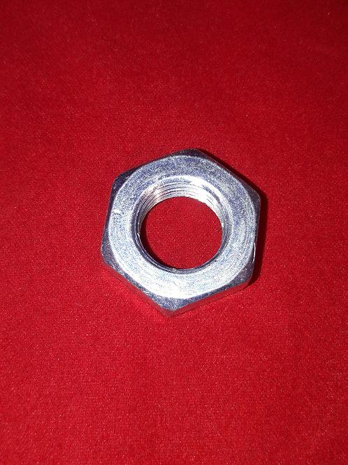 Nut flat type -DIN 936 22H- M14 x 1.5 (used for clutch Lambretta LI, LIS, SX, TV