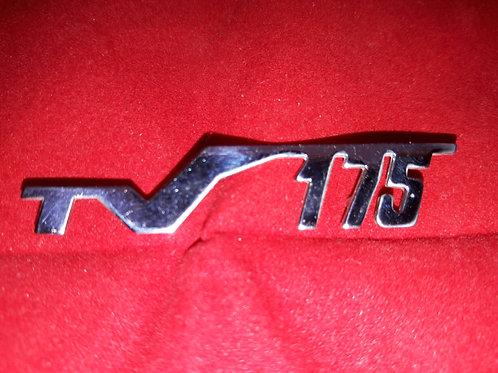 Badge legshield -LAMBRETTA- TV 175 - TV 175 (Series 2 since 10.1959, Series 3 )