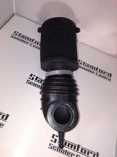 BGM Pro Lambretta Air Hose & Marchald Foam Filter Fits 40mm Dellorto PHBL Carb