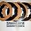 Thumbnail: BGM Lambretta 4 Plate Clutch Corks & Steels Fits Series 1,2 & 3 Quality Part