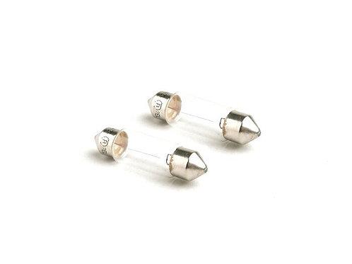 12v 5W Festoon Bulbs x 2 - 11mm x 36mm
