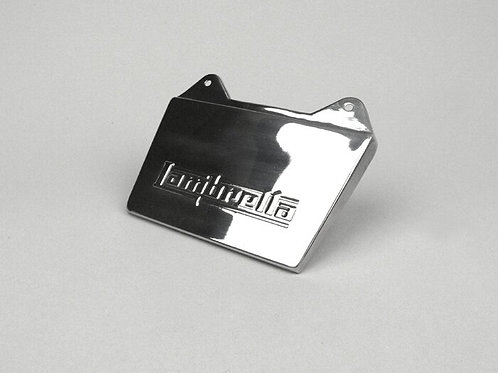 Lambretta Series 3 Stainless Rear Mudflap Embossed With Lambretta