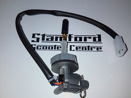 BGM Vespa Fast Flow Tap with Low Fuel Level Warning Wiring