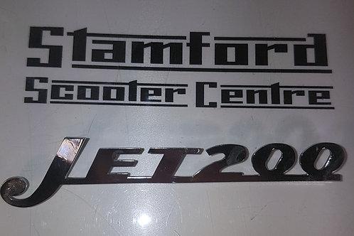 Casa Lambretta Jet 200 Legshield Badge