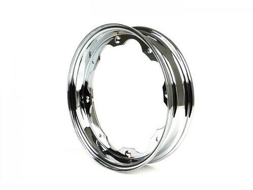 Lambretta Chrome Wheel Rims GP Li TV SX series 1/2/3 NEW