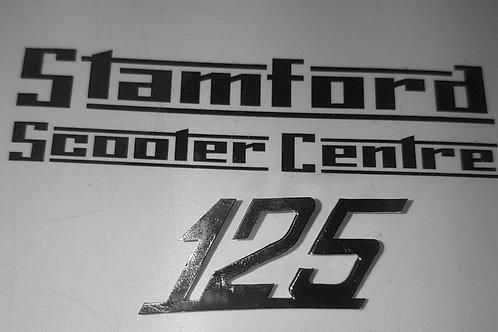 """Casa Lambretta Li S """"125"""" Legshield Badge"""