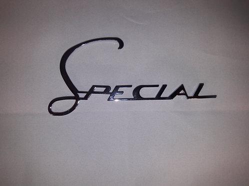 Badge legshield -LAMBRETTA- Special - LIS, SX