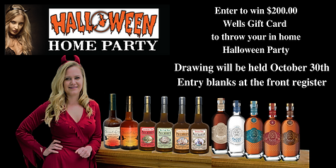 Wells End Cap Sign Halloween Party Conte