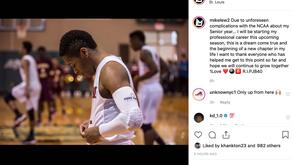 Lewis Leaves SLU to Turn Pro