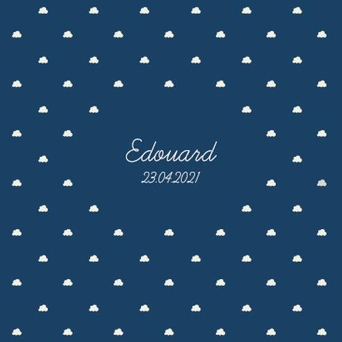"""Faire-part """"Edouard"""""""