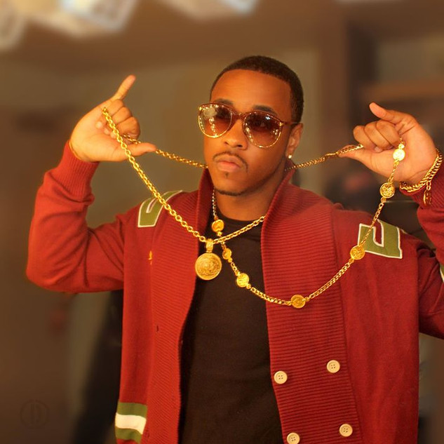 Jeremih before his concert