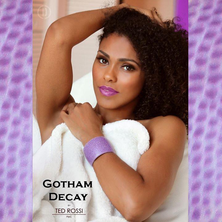 Dionn Reneè photography for Gotham Decay