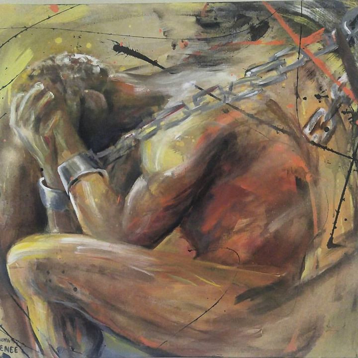...New painting..._By Dionn Reneé__The s