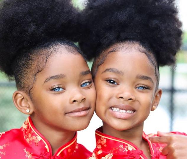 The True Blue Twins