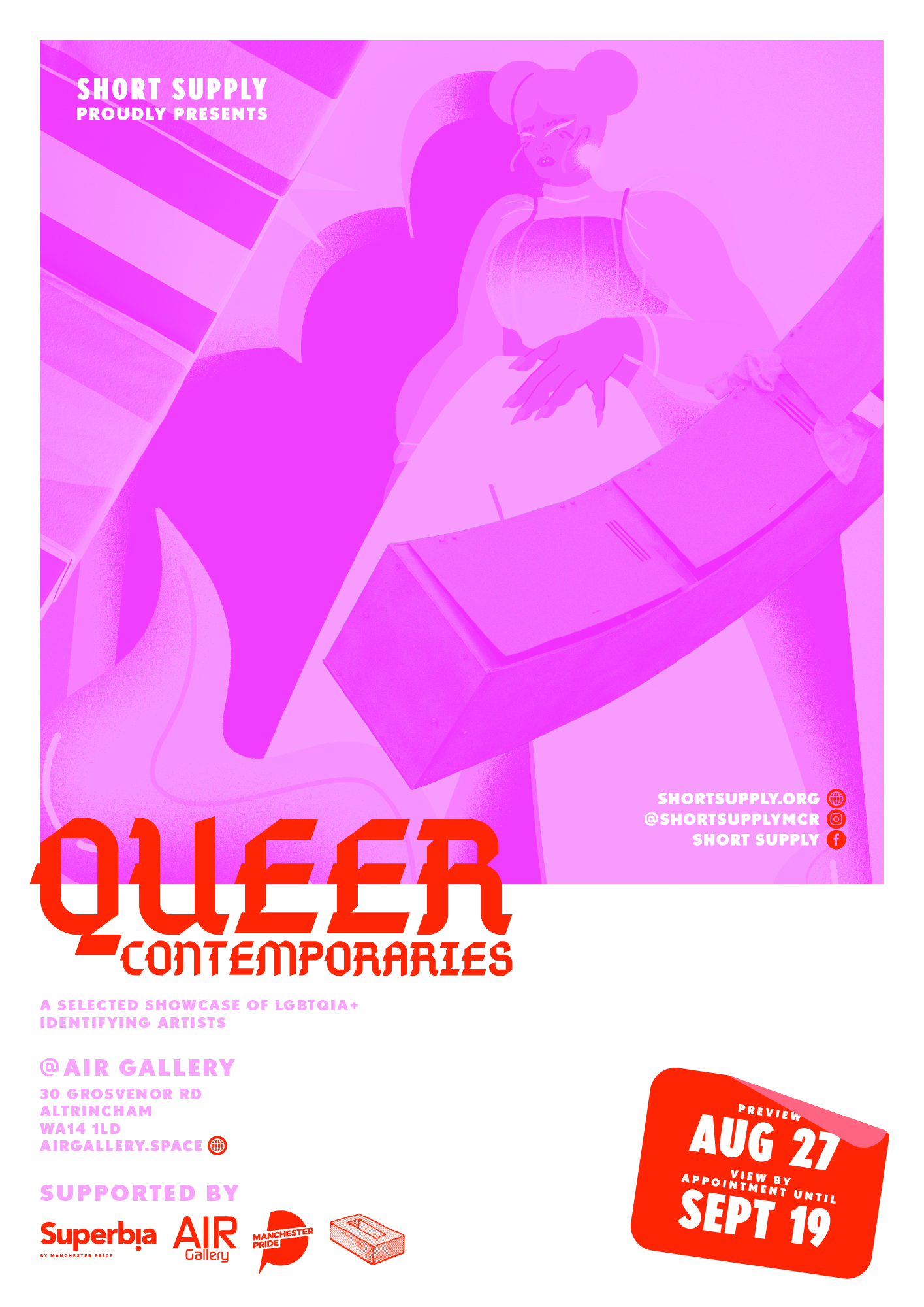 Queer Contemporaries 2020 Poster