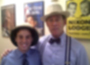 Me and Roger Stone outside his office