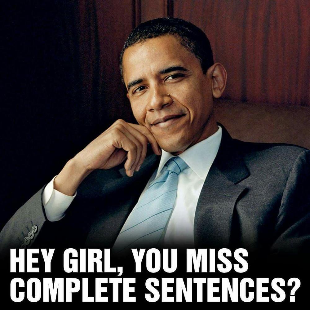 God I miss Barack Obama!