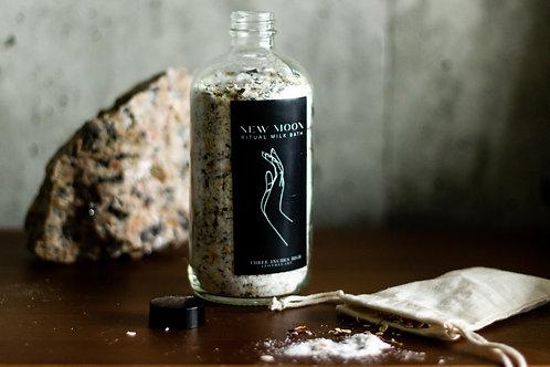 New Moon Ritual Milk Bath