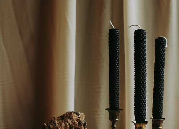Beeswax Taper Candles (Pair)