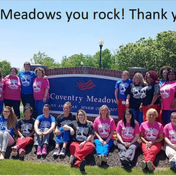 Coventry Meadows Nurses and staff
