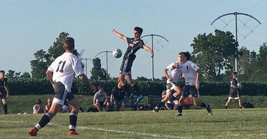 HNHS Soccer Scrimmage Aug 2019