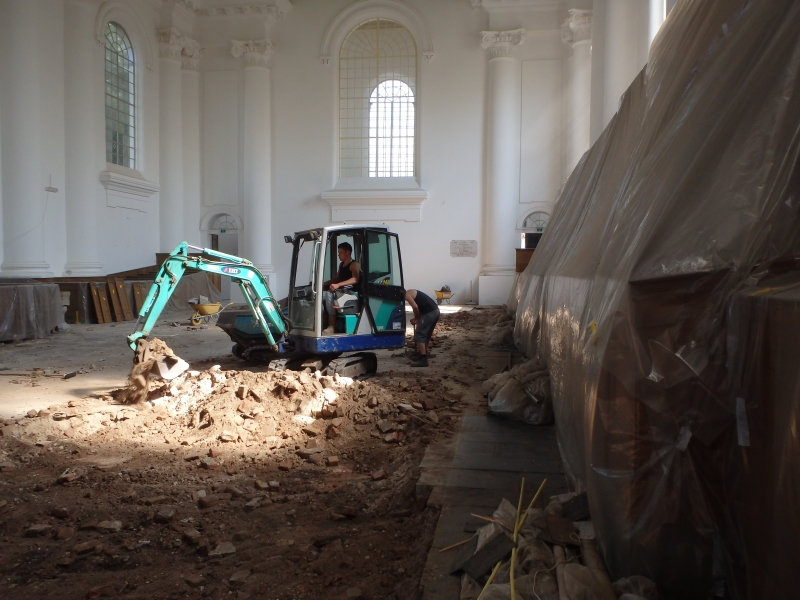 Kerk restauratie