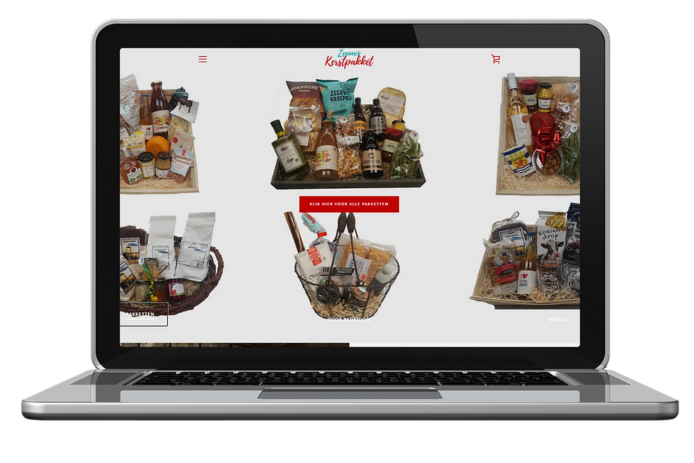 Webshop door MKB Marketing Zeeland