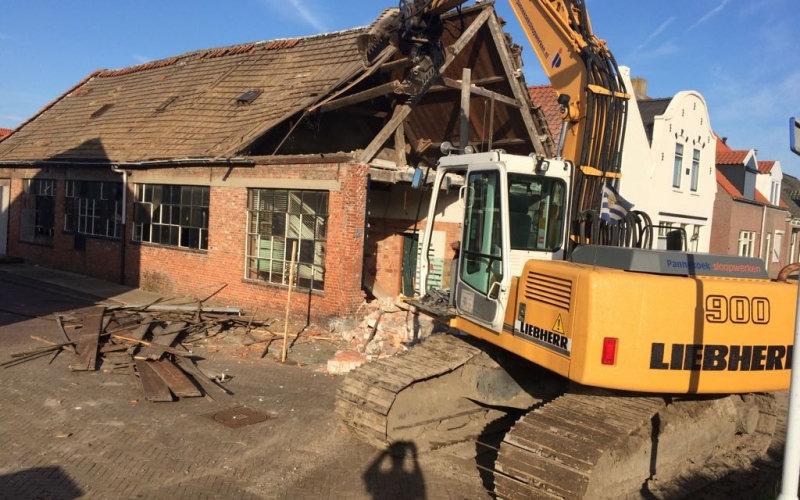 Totaal sloop huis