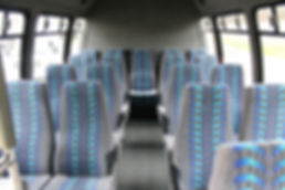 Interior of Shuttle - Seating for 20
