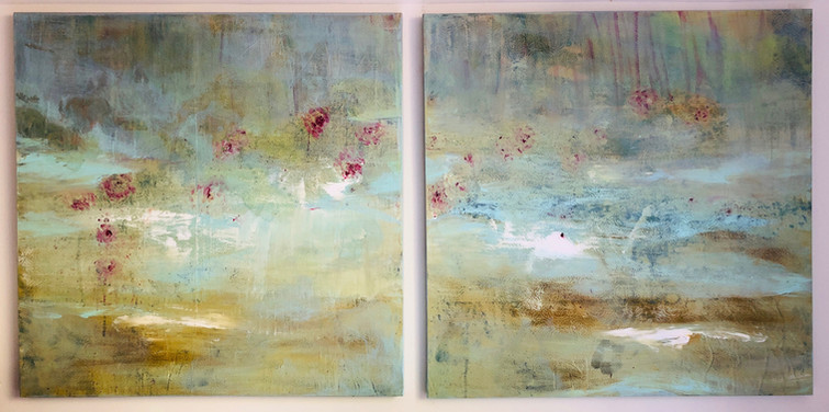 At Ease Diptych