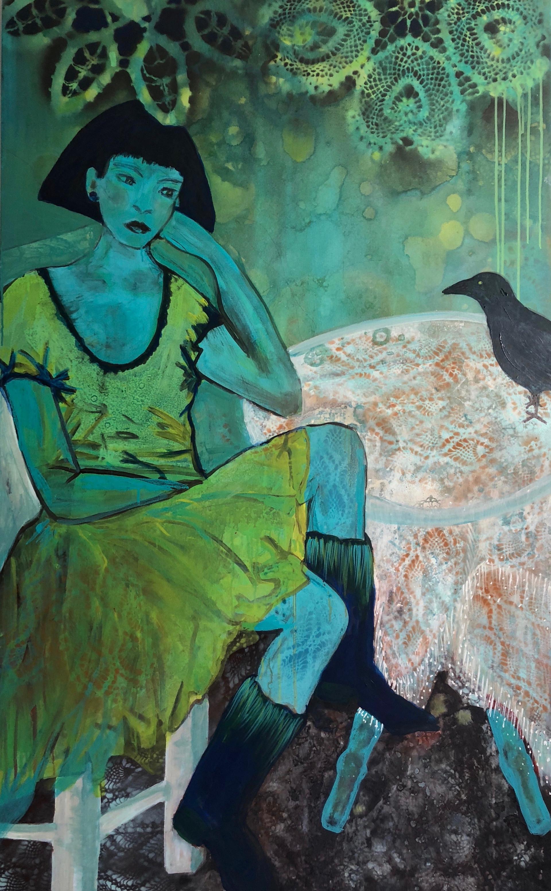 Print Raven Girl