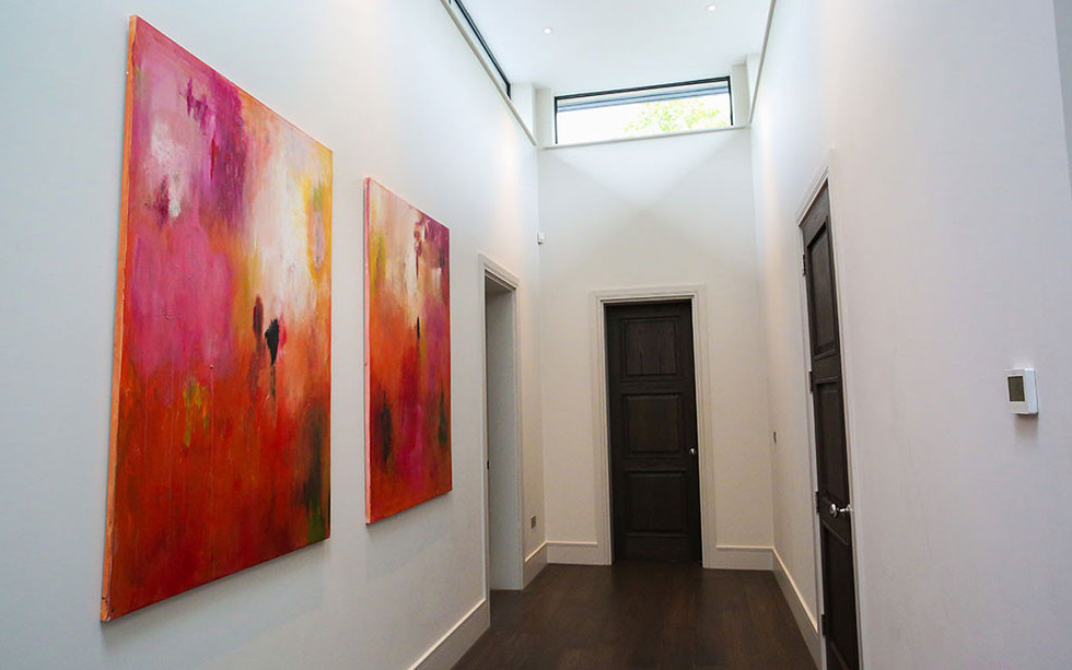 Ssold Diptych in a private home.