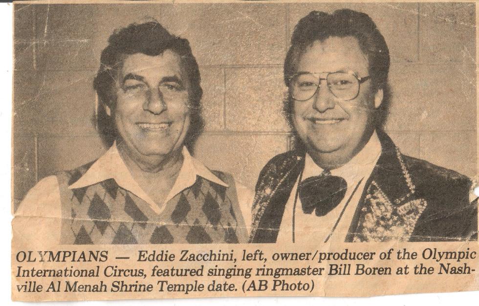 1987, Eddie Zacchini & Bill