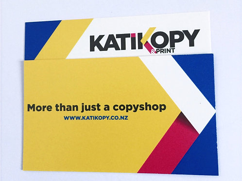 100 double sided COLOUR business cards
