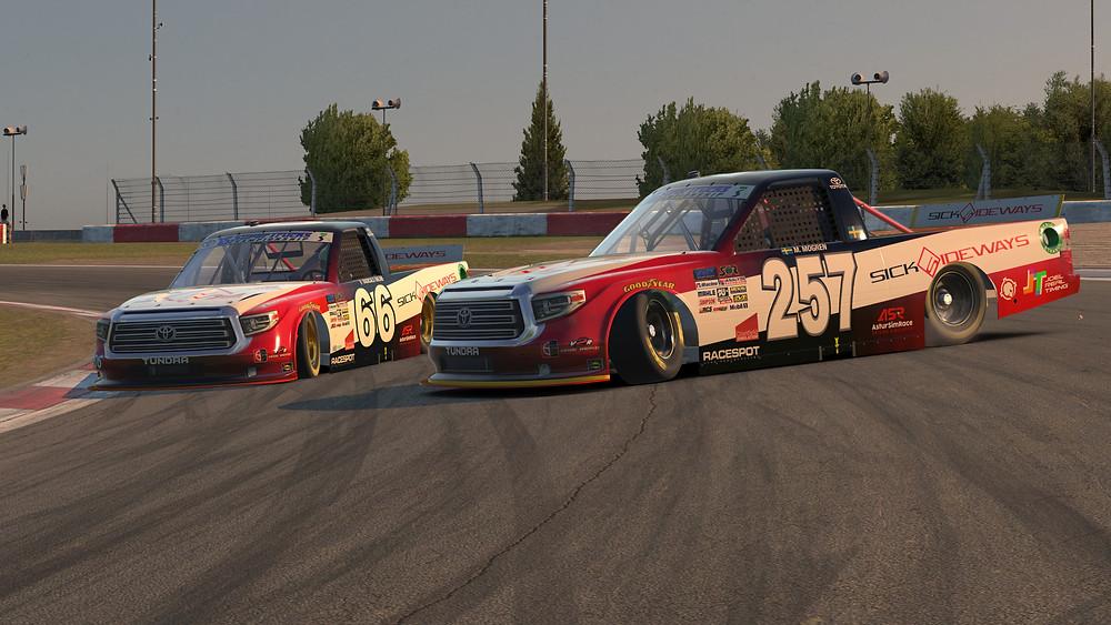 Cammaerts and Mogren at Nurburgring GP