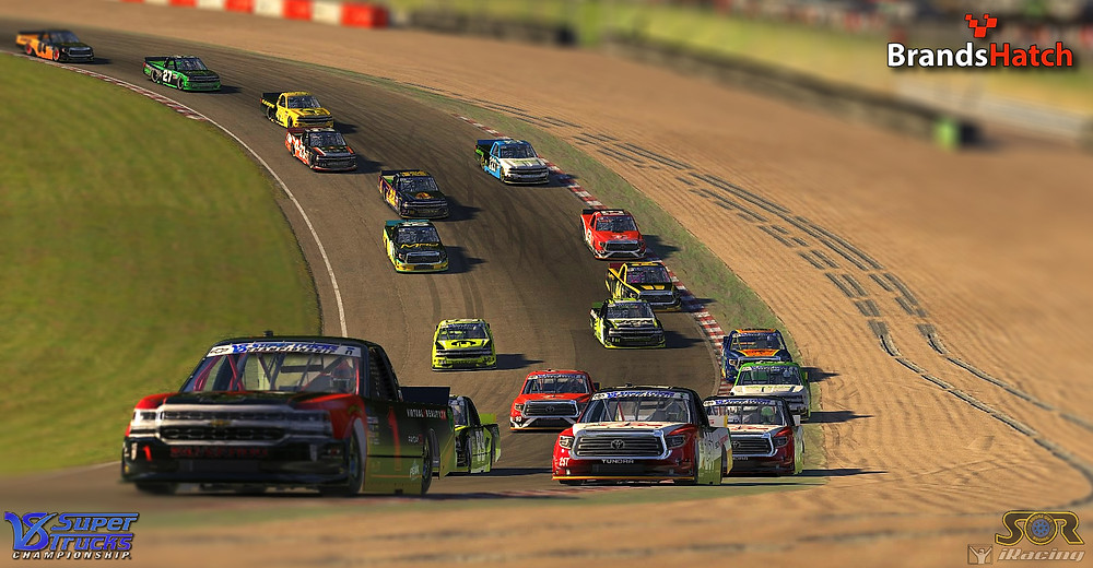 V8 SuperTrucks at Brands Hatch