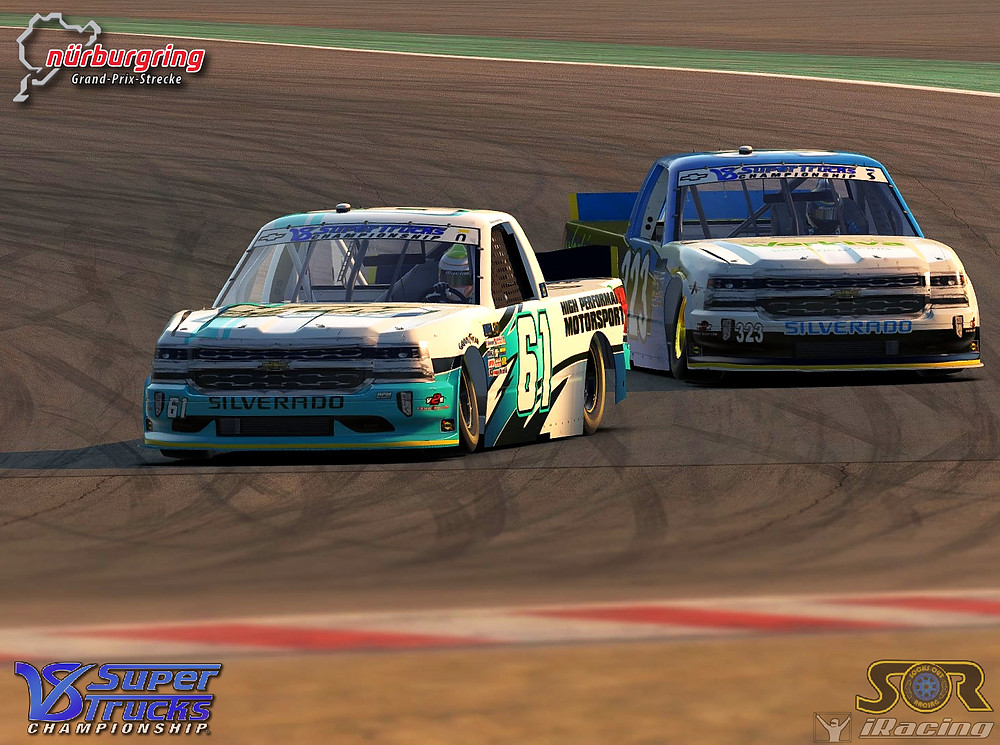 Roper and Roos battle it out