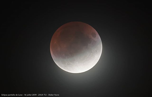 #eclipsedelune hier soir_#nature #eclips