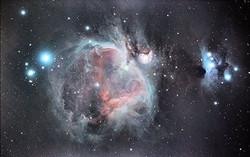 La Nébuleuse d'Orion en ville le 30 sept