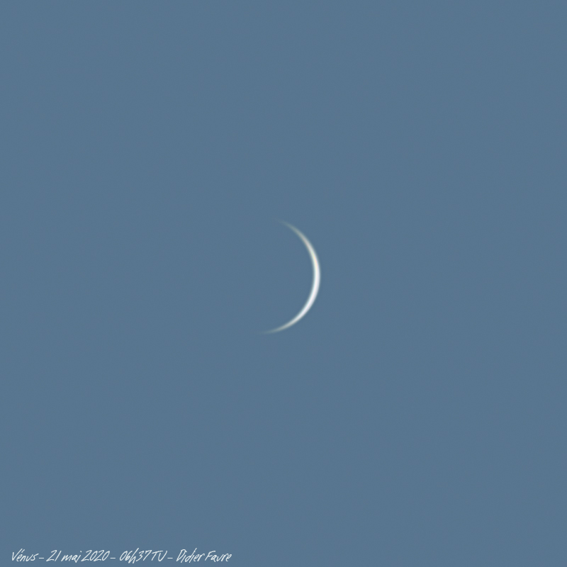 21 mai 2020 - Venus