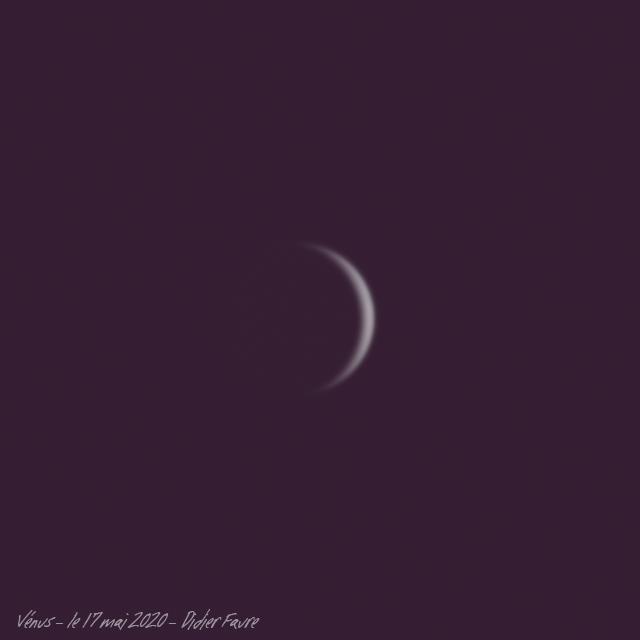 17 mai 2020 - Venus