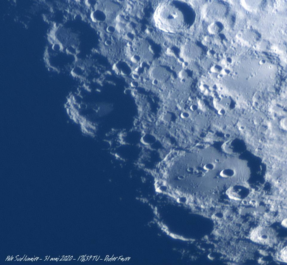 31 mai 2020 - Clavius - Lune