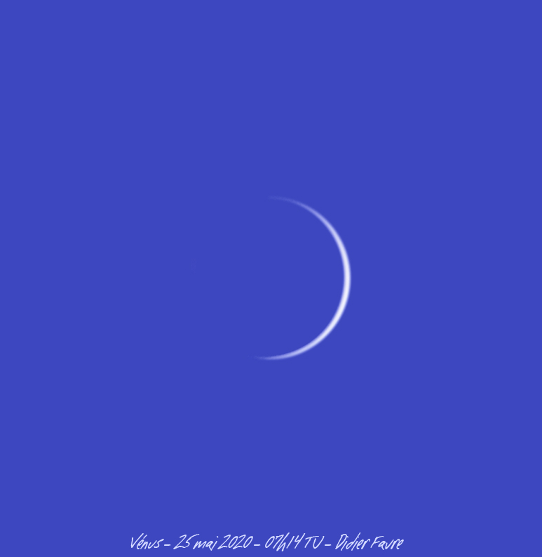 25 mai 2020 - 07h14 TU Venus