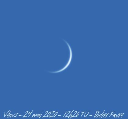 24 mai 2020 - 12h26 TU Venus