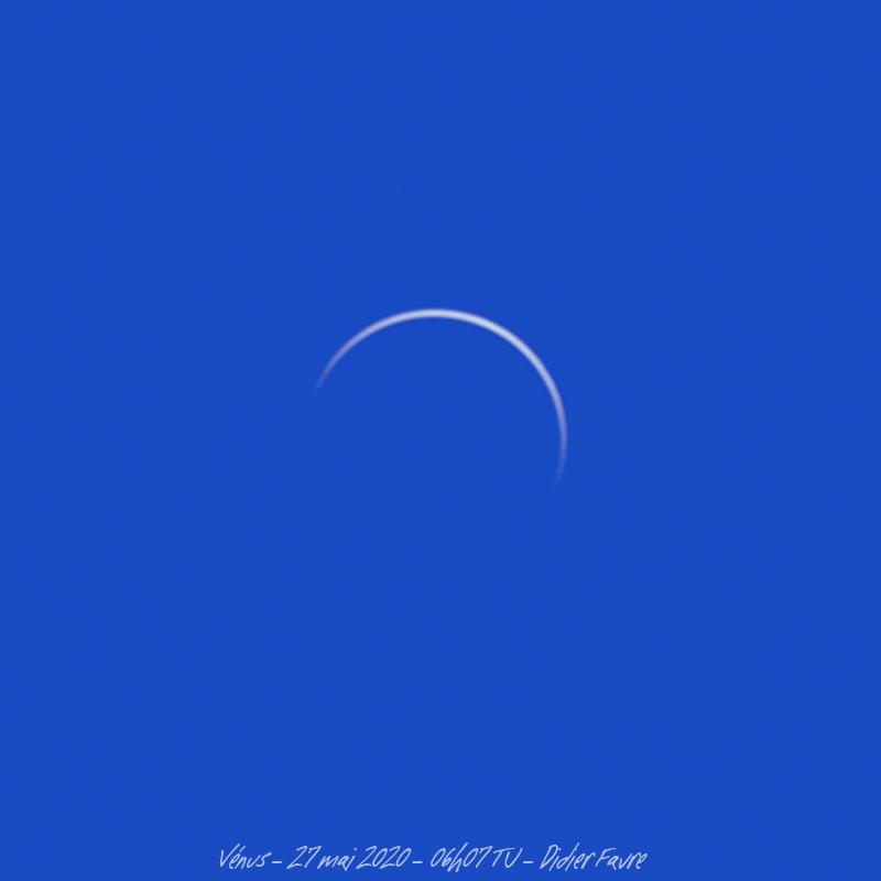 27 mai 2020 - Vénus